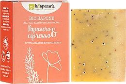 """Parfüm, Parfüméria, kozmetikum Bio szappan """"Mák és ciprus"""" - La Saponaria Bio Sapone"""
