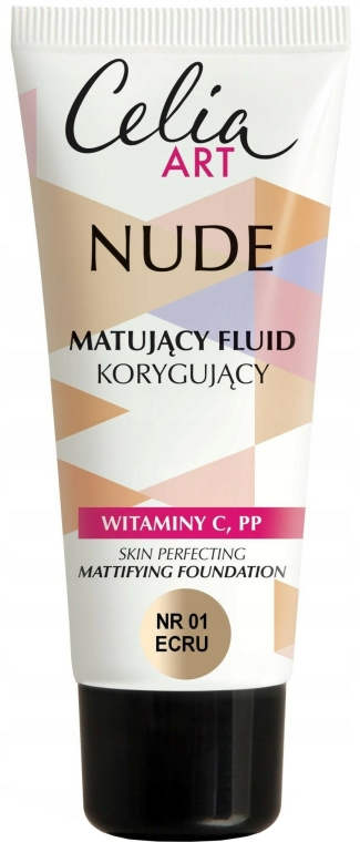 Mattító alapozó - Celia Nude Mattifying Foundation