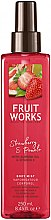 "Parfüm, Parfüméria, kozmetikum Testspray ""Eper és pomelo"" - Grace Cole Fruit Works Body Mist Strawberry & Pomelo"
