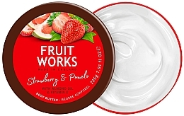 "Parfüm, Parfüméria, kozmetikum Testápoló olaj ""Szamóca és pomelo"" - Grace Cole Fruit Works Body Butter Strawberry & Pomelo"