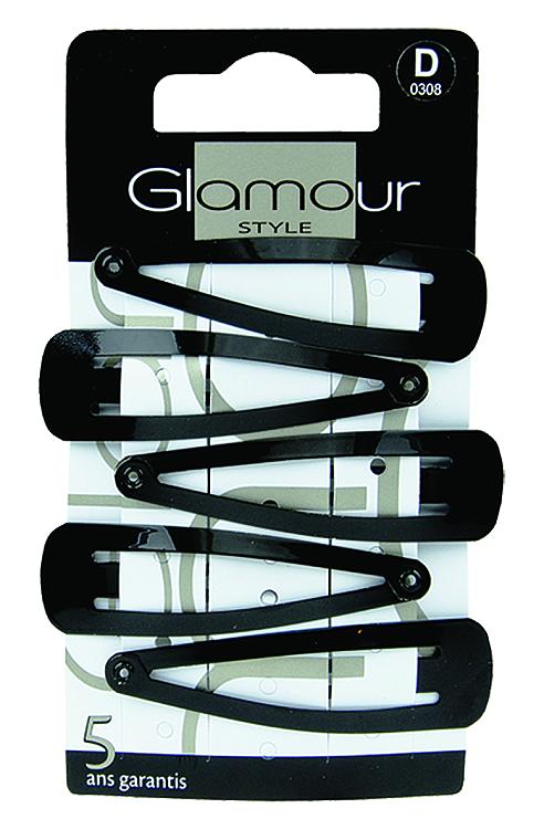 Hajcsat, 308, fekete - Glamour