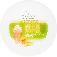 Parfüm, Parfüméria, kozmetikum Kéz- és lábápoló olaj - Hristina Stani Chef's Hand And Foot Butter Melon Milk Shake