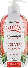 """Parfüm, Parfüméria, kozmetikum Folyékony szappan """"Aloe vera"""" - Parisienne Italia Fiorile Aloe Vera Liquid Soap"""