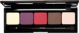 Parfüm, Parfüméria, kozmetikum Szemhéjfesték paletta - Nouba Unconventional Palette Eyeshadow