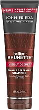 Parfüm, Parfüméria, kozmetikum Sampon sötét hajra - John Frieda Brilliant Brunette Visibly Deeper Shampoo