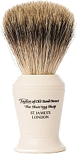 Parfüm, Parfüméria, kozmetikum Borotvapamacs, P376 - Taylor of Old Bond Street Shaving Brush Pure Badger size L