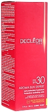 Parfüm, Parfüméria, kozmetikum Napvédő testápoló tej SPF30 - Decleor Aroma Sun Expert Protective Hydrating Milk SPF30