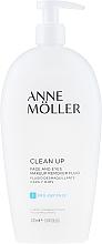 Parfüm, Parfüméria, kozmetikum Sminkeltávolító fluid - Anne Moller Pro-Defense Makeup Remover Fluid Face and Eyes