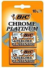 """Parfüm, Parfüméria, kozmetikum Borotva pengék """"Chrome Platinum"""", 10db - Bic"""