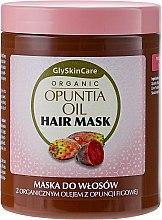 Parfüm, Parfüméria, kozmetikum Hajmaszk organikus fügekaktusz olajjal - GlySkinCare Organic Opuntia Oil Hair Mask