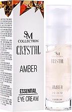 Parfüm, Parfüméria, kozmetikum Természetes borostyán szemkrém - SM Collection Crystal Amber Eye Cream