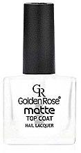 Parfüm, Parfüméria, kozmetikum Mattító fedőlakk - Golden Rose Matte Top Coat