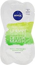 Parfüm, Parfüméria, kozmetikum Lehúzható arcmaszk - Nivea Urban Skin Peel Off Detox Mask