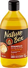 Parfüm, Parfüméria, kozmetikum Hidratáló sampon makadámia olajjal - Nature Box Macadamia Oil
