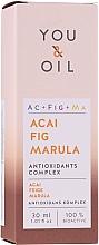 Parfüm, Parfüméria, kozmetikum Arcszérum - You & Oil Acai Fig Marula