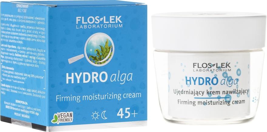 Hidratáló arckrém - Floslek Hydro Alga 45+