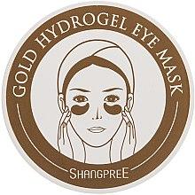 Parfüm, Parfüméria, kozmetikum Hidrogél szemkontúr maszk-borogatás - Shangpree Gold Hydrogel Eye Mask