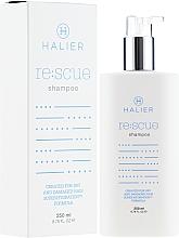 Parfüm, Parfüméria, kozmetikum Helyreállító sampon száraz és sérült hajra - Halier Re:scue Shampoo