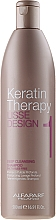 Parfüm, Parfüméria, kozmetikum Mélytisztító sampon - Alfaparf Lisse Design Keratin Therapy 1 Deep Cleansing Shampoo for Women