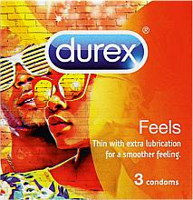 Parfüm, Parfüméria, kozmetikum Óvszer, 3 db - Durex Feels