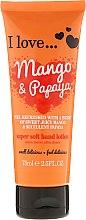 """Parfüm, Parfüméria, kozmetikum Kézápoló lotion """"Mangó és papaya"""" - I Love... Mango & Papaya Super Soft Hand Lotion"""