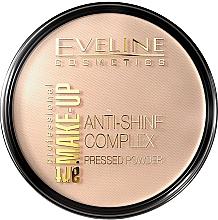 Parfüm, Parfüméria, kozmetikum Kompakt púder - Eveline Cosmetics Anti-Shine Complex