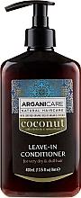 Parfüm, Parfüméria, kozmetikum Öblítést nem igénylő kondicionáló nagyon száraz és tompa hajra - Arganicare Coconut Leave-In Conditioner For Very Dry & Dull Hair