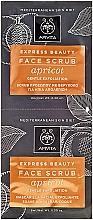 Parfüm, Parfüméria, kozmetikum Arcradír - Apivita Express Beauty Face Scrub With Apricot