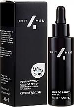 Parfüm, Parfüméria, kozmetikum Illatosított szakál olaj - Unit4Men Citrus&Musk Perfumed Beard Oil