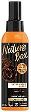Parfüm, Parfüméria, kozmetikum Hajspray barackmagolajjal - Nature Box Apricot Oil Extra Shine Spray