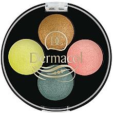 Parfüm, Parfüméria, kozmetikum Szemhéjfesték - Dermacol Quattro Baked Eye Shadow