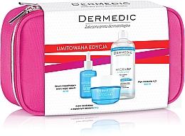 Parfüm, Parfüméria, kozmetikum Készlet - Dermedic Hydrain 3(ser/30/ml+cr/50/ml+mic/water/500/ml+bag)