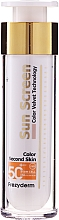 Parfüm, Parfüméria, kozmetikum Napvédő arckrém - Frezyderm Sun Screen Color Velvet Face Cream SPF 50+