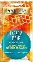 """Parfüm, Parfüméria, kozmetikum Arcmaszk """"Tápláló"""" - Perfecta Express Mask"""