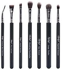 Parfüm, Parfüméria, kozmetikum Ecset készlet - Nanshy Eye Brush Set Onyx Black (Brush/7db)