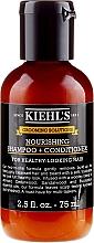 Parfüm, Parfüméria, kozmetikum Sampon-kondicionáló - Kiehl`s Grooming Solutions Nourishing Shampoo + Conditioner