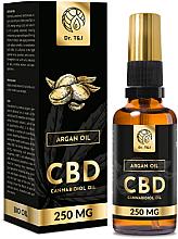 Parfüm, Parfüméria, kozmetikum Természetes argánolaj CBD 250mg - Dr. T&J Bio Oil
