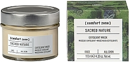 Parfüm, Parfüméria, kozmetikum Élénkítő arcmaszk - Comfort Zone Sacred Nature Exfoliant Mask