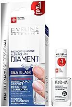 Parfüm, Parfüméria, kozmetikum Gyémántos körömerősítő és ápoló - Eveline Cosmetics Nail Therapy Professional