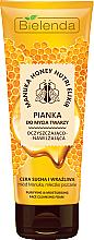 Parfüm, Parfüméria, kozmetikum Tisztító és hidratáló hab - Bielenda Manuka Honey Nutri Elixir Facial Foam