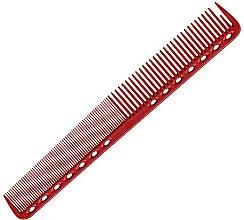 Parfüm, Parfüméria, kozmetikum Professzionális fésű, 180 mm, piros - Y.S.Park Professional 339 Cutting Combs Red