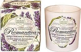 """Parfüm, Parfüméria, kozmetikum Illatgyertya """"Toszkán levendula és vasfű"""" - Nesti Dante RomanticaTuscan Lavender & Verbena"""