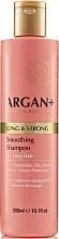 Parfüm, Parfüméria, kozmetikum Hajsampon keramidokkal - Argan + Long & Strong Smoothing Shampoo