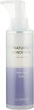 Parfüm, Parfüméria, kozmetikum Mélytisztító hidrofil olaj - The Saem Natural Condition Cleansing Oil Deep Clean