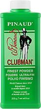 Parfüm, Parfüméria, kozmetikum Szuper könnyű fehér talcum testre - Clubman Pinaud Finest Talc Ultra-Fin