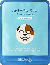"Parfüm, Parfüméria, kozmetikum Szövetmaszk állatarc ""Kutya"" - Bioaqua Animal Dog Addict Mask"