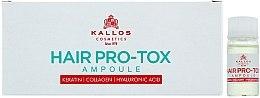 Parfüm, Parfüméria, kozmetikum Ampulla gyenge és sérült hajra - Kallos Cosmetics Pro-Tox Hair Ampoule