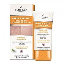 Parfüm, Parfüméria, kozmetikum fehérítő kézkrém - Floslek White & Beauty Anti-Aging Hand Cream