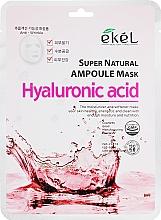 Parfüm, Parfüméria, kozmetikum Szövetmaszk hialuronsavval - Ekel Super Natural Ampoule Mask Hyaluronic Acid