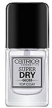 Parfüm, Parfüméria, kozmetikum Körömlakk rögzítő - Catrice Super Dry Gloss Top Coat